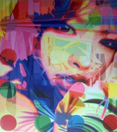 """Saatchi Art Artist Utin Rini; Painting, """"Over The Hill"""" #art"""