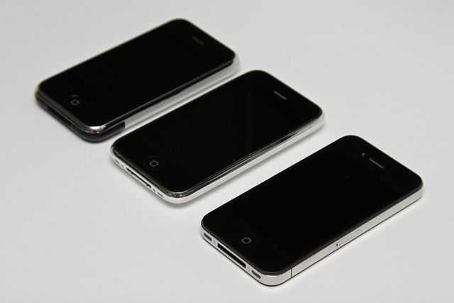 Original iPhone 8GB, iPhone 3G 16GB White and iPhone 4 32GB Black.     Who was the supposedly wrong number from? Track the Phone with SpyPhone: