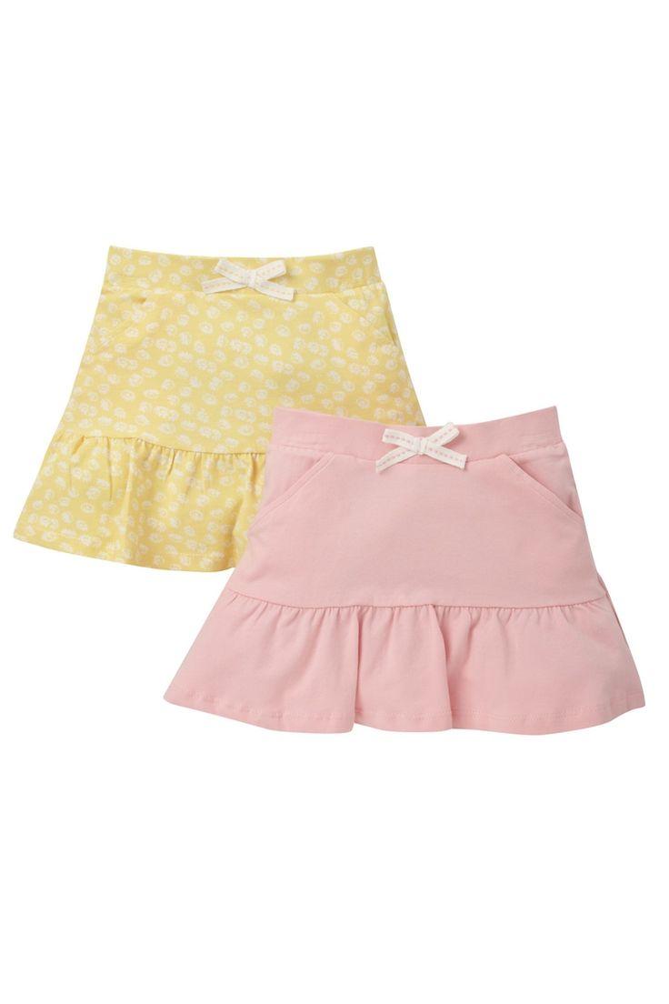 Pembe Sarı Kız Cocuk 2Li Paket Etek MOTHERCARE | Trendyol