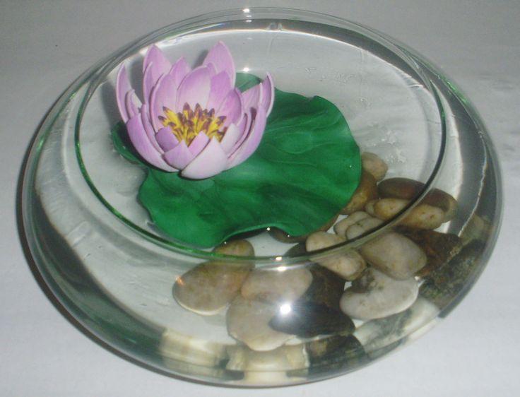 Flor de Loto en goma eva sin moldes | Flores Goma Eva | Pinterest