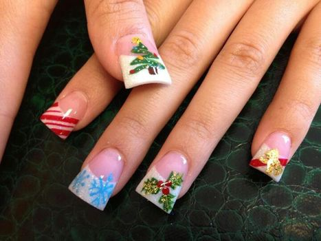 17 best images about dise o u as on pinterest nail art for Decoracion de unas de navidad