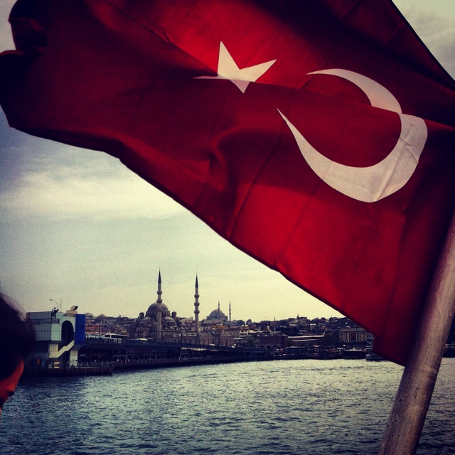 İstanbul Food Walks: Turkish Flag