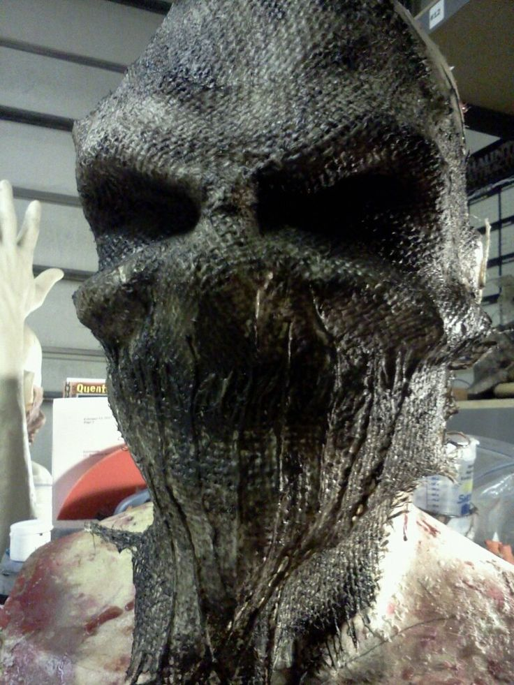 how to make a scary scarecrow mask | Call 720-440-2581 or email info@krookedkreations.com to order!