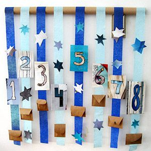 Festive & Fun Hanukkah Crafts & Recipes: Hanukkah Countdown Calendar (via Parents.com)