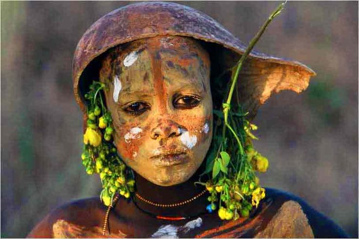 Omo Valley Tribe member , Ethiopia. Picture by Hans Sylvester
