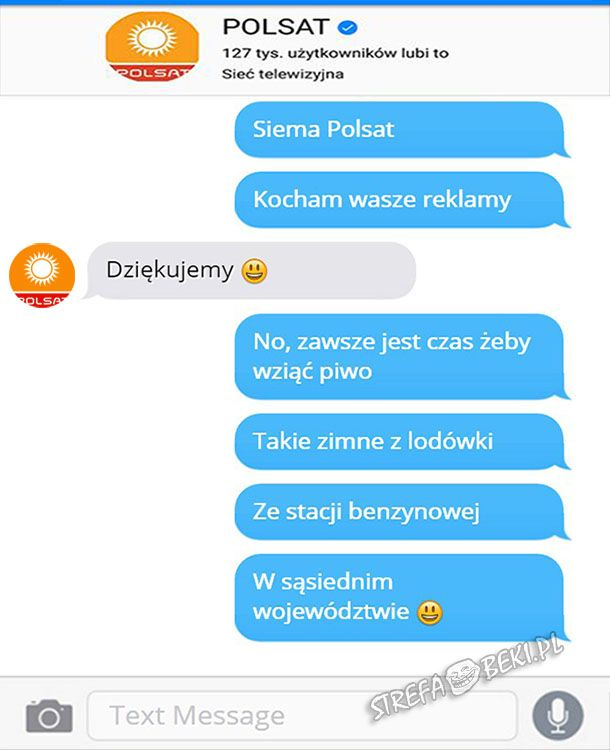 Trolling Polsatu :D