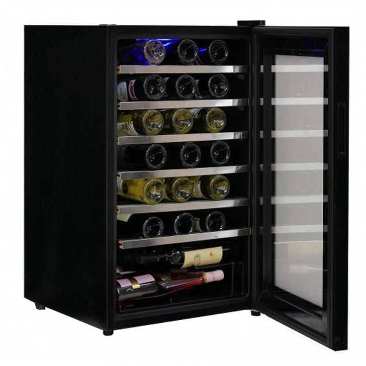 #винный #холодильник #Cavanova CV048С  Цена 88 800 рублей Винный шкаф Cavanova CV048C может сохранять вина в диапазоне температур от +5°C до +20°C. Элегантный дизайн характеризуется как эргономичный и стильный, он имеет выдвижные металлические полки, которые облегчают размещение на них вина. Купить  http://shop.webdiz.com.ua/goods/vinnyj-holodilnik-cavanova-cv048s/