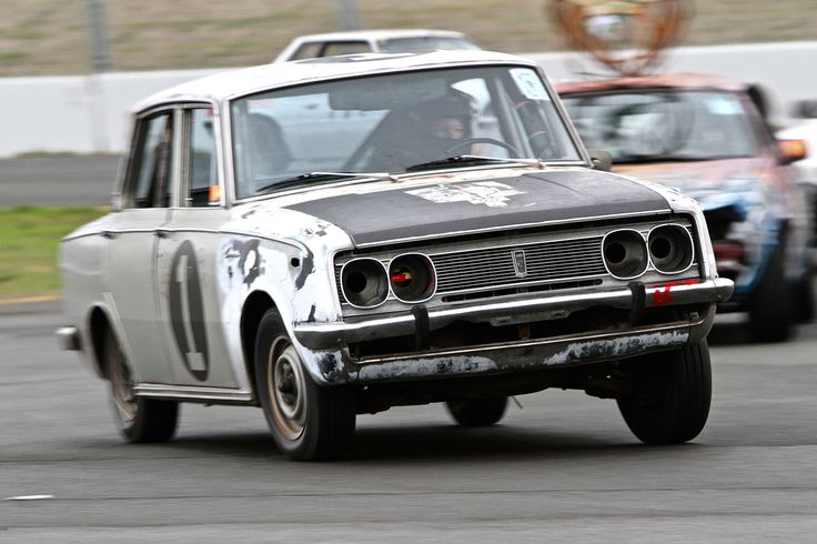 If we're still following the typical script for an ancient, completely stock LeMons car at its debut race, this Corona should have spluttered to a halt ...