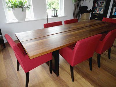 houten tafel www.fairwood.nl/Notentafels.html