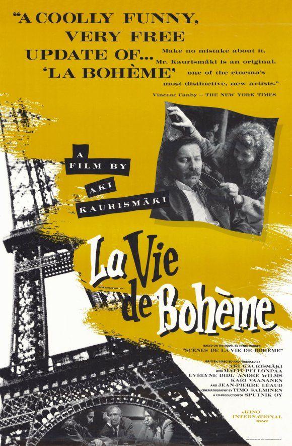 Aki Kaurismäki: La vie de bohème — Boheemielämää (1992)
