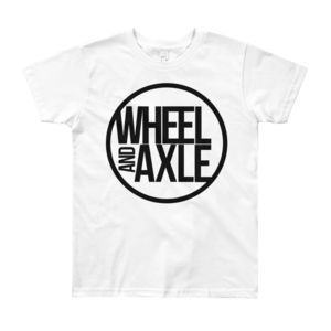kids t-shirt by wheel and axle clothing wheelchair brand sports adapted
