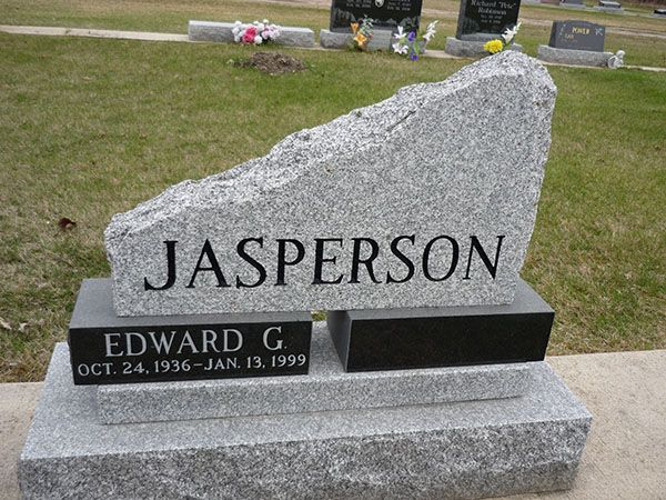 Larsen's Memorials serve range of services in Winnipeg including designing of stone craft monuments, memorial restoration & stone lettering.