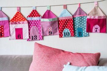 hier liegt gute laune in der luft stoffkalender selber machen kar csony textil. Black Bedroom Furniture Sets. Home Design Ideas