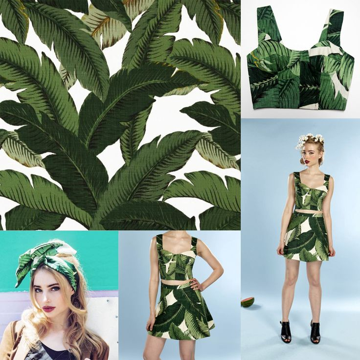 telas vintage green banana leaf cotton fabric meters for sewing dress cloth DIY material textile tissue tecidos para patchwork-in Fabric