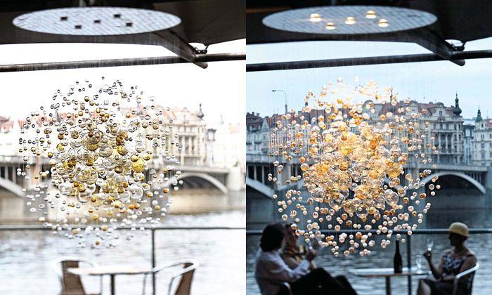 Fantastic bubble light from Lasvit