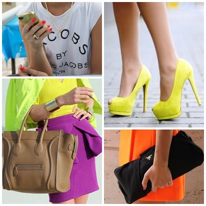 Highlighter brights!: Colors Highlights Bright, Colors Spring, Pump, Fashion Inspiration, Colors Mucho, Fashion Food Lif, Colors Blocks, Beautiful Fashion, Bright Colors