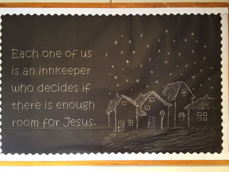 10 Christmas Bulletin Board Ideas for your Church - Godly Ladies