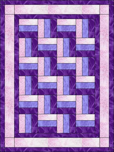 Gift quilt -another possible pattern for lap quilts for the nursing home