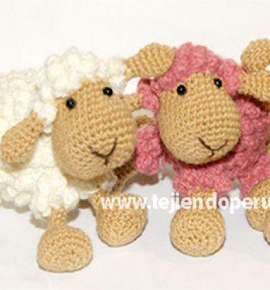 Little popcorn stich sheep - free amigurumi pattern & video tutorial // Amigurumi popcorn bárányka lépésről-lépésre (spanyol horgolásminta) // Mindy - craft tutorial collection // #crafts #DIY #craftTutorial #tutorial