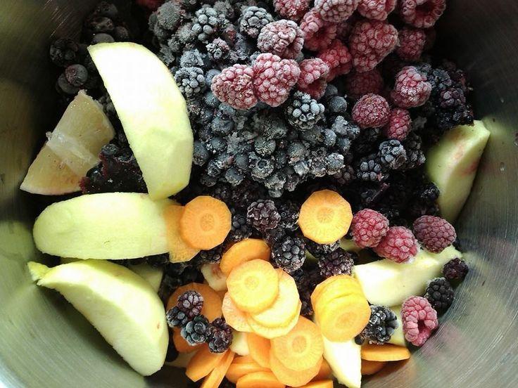 Tenhle domácí džus byl můj experiment. Vařím doma dětem džus pomerančový, citrónový, mandarinkový nebo mulťák. Od léta mám hodně zmr