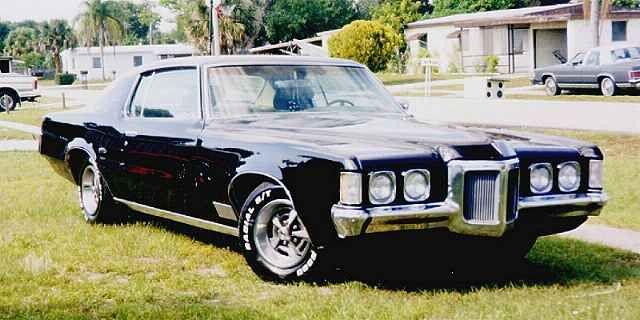 "Mine was a 1970 Grand Prix ,Black On Black , De-chromed ,400 Four Barrel ,J model , Dubbed ""The Hawk"" By Friends.."