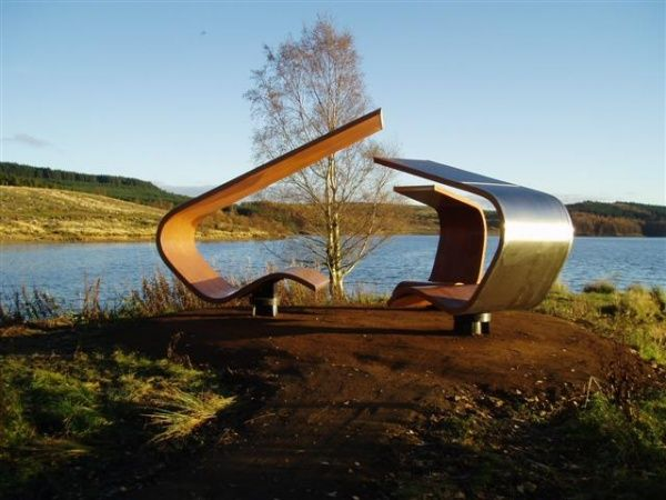 One of the many artwork pieces dotted around Kielder Water & Forest Park! But which one.... http://www.visitnorthumberland.com