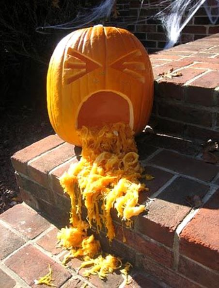 I am not a fan of horrors so these pumpkin images are my favorites. If you're interested to these carving pumpkin ideas too, it would be great to visit their direct sources.