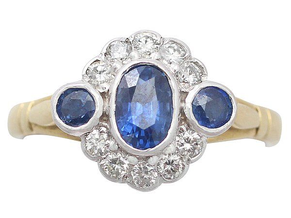 '0.56 ct Sapphire and Diamond, 18 ct Yellow Gold Dress Ring - Contemporary' http://www.acsilver.co.uk/shop/pc/0-56-ct-Sapphire-and-0-38-ct-Diamond-18-ct-Yellow-Gold-Dress-Ring-Contemporary-35p4964.htm