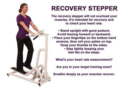The Recovery Stepper is an important part of your workout ...