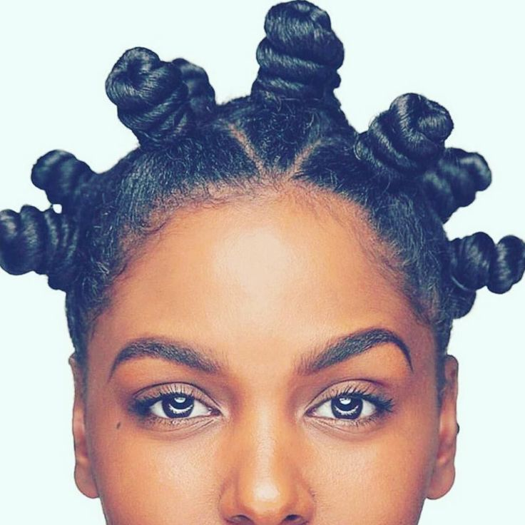 When you know your bantu knot out is going to be perfect! Try our Nourishing…