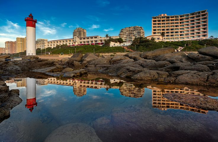 Umhlanga promenade, Durban. South Africa. Photo by Andrew Harvard - https://www.flickr.com/photos/68179746@N03/