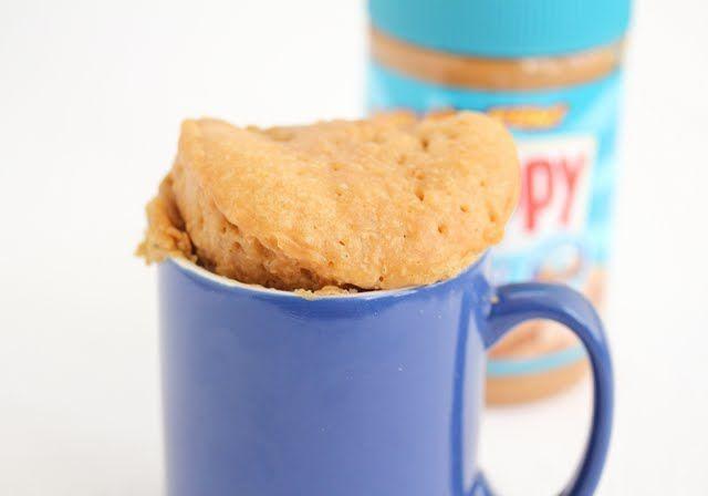 Peanut Butter Mug cake | Kirbie's Cravings | A San Diego food blog