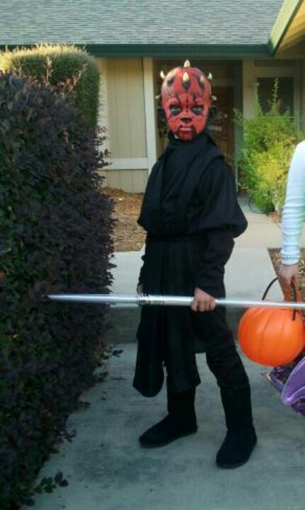 Homemade Darth Maul Costume 17 Best images about S...