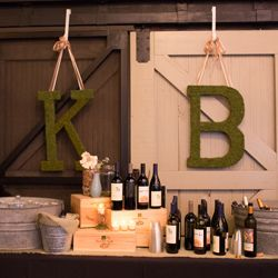 A beautiful and rustic rehearsal dinner at the Winter Park Farmers' Market in Orlando.