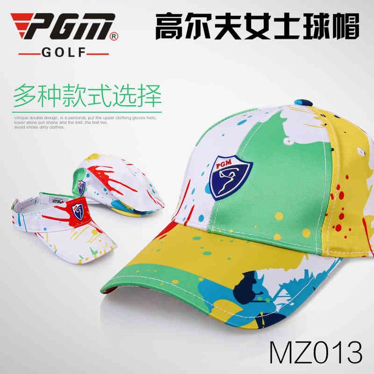 2017 New Lady's Inkball Golf Cap Golf Sunscreen Breathable Hat