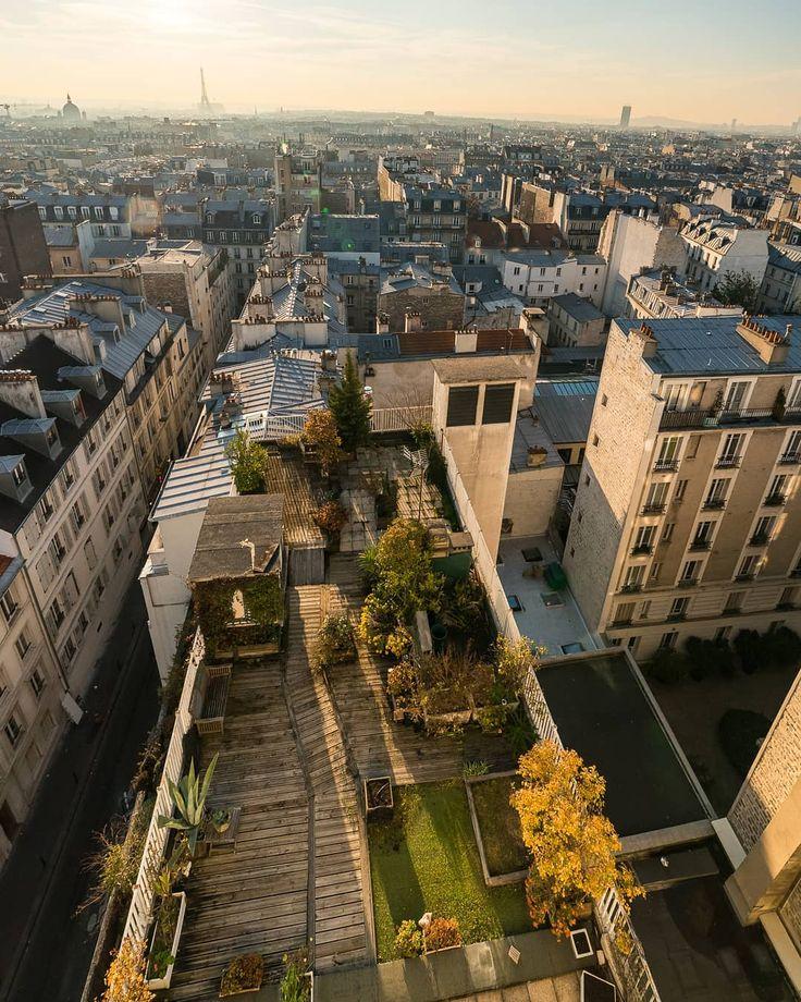 """Toits de Paris on Instagram """"Toit terrasse, 17e"""