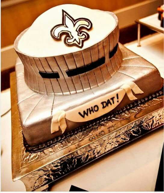 Saints Cake Amazing Cake Pinterest Saints Cake And Saints