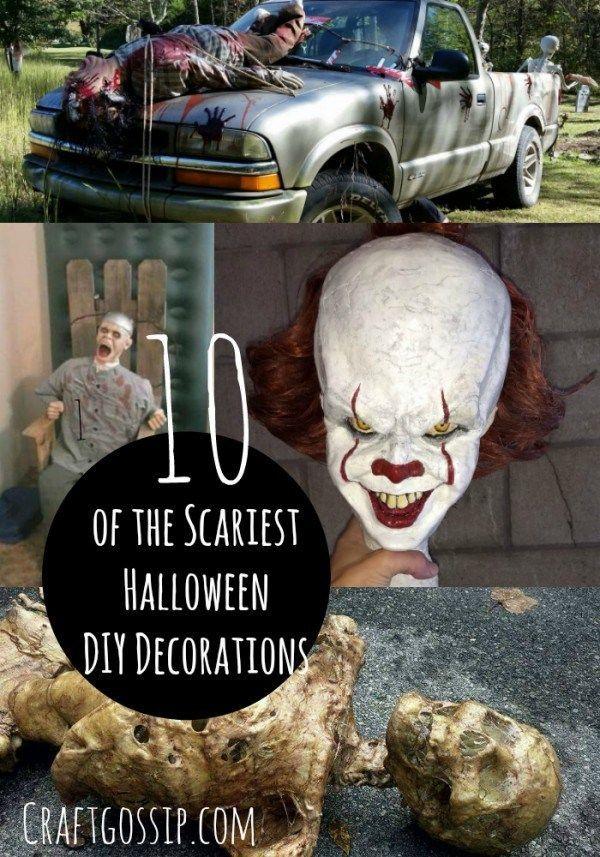 WARNING \u2013 10 Scary DIY Halloween Party Props \u2013 Party Ideas Halloween