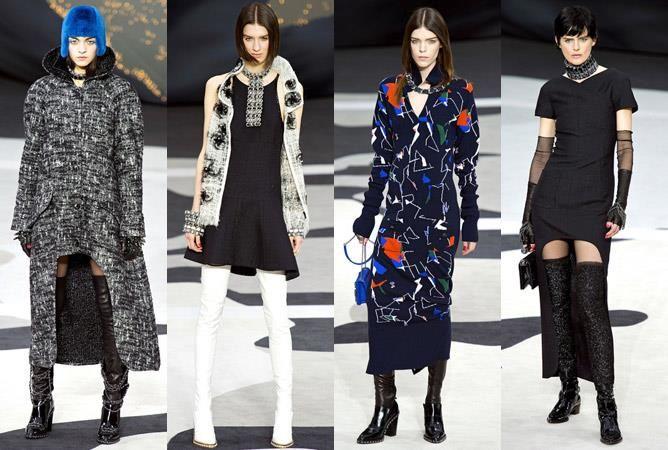Парижская мода пальто