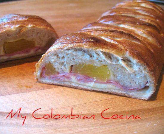 Pan Hawaino. Colombia, cocina, receta, recipe, colombian, comida.