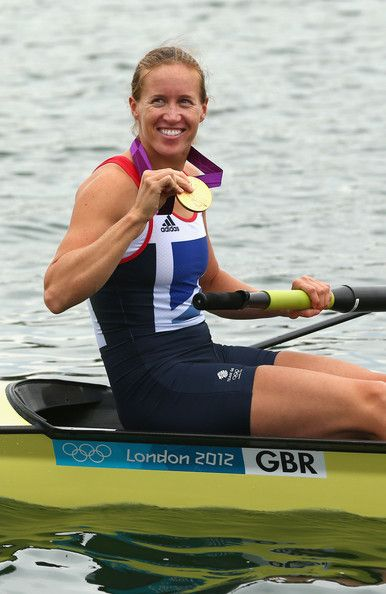 Helen Glover - Rowing. - Women's pairs.