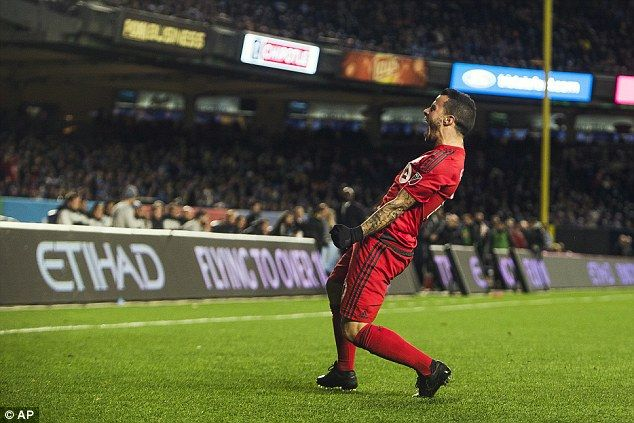 Sebastian Giovinco was the star of the show and bagged a brace for Toronto