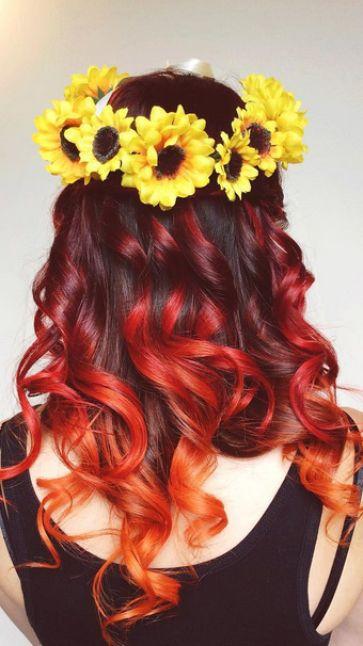 Hair Trend: Fire Hair | Hair & Beauty | Closer Online