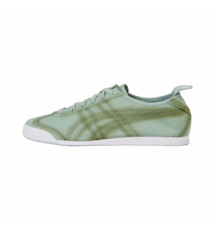 Baskets vert de la marque Onituska Tiger pour femme pas cher