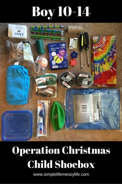What We Packed In Our Operation Christmas Child Shoeboxes