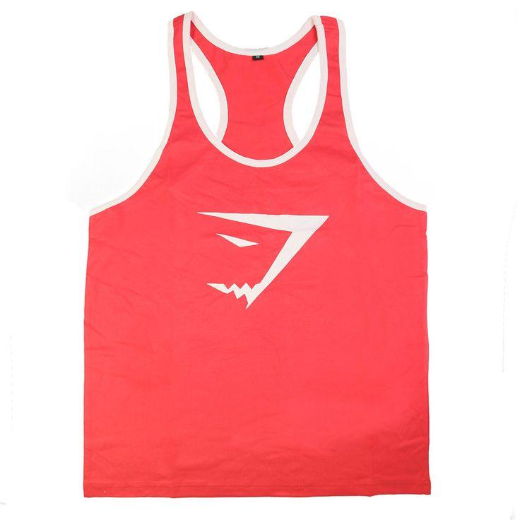 Gyúrós edző trikó férfi piros fehér Edzéshez,fitneszhez, testépítéshez! Már 2 db-tól INGYENES szállítás! Többféle színben és méretben! Csak NÁLUNK elérhető