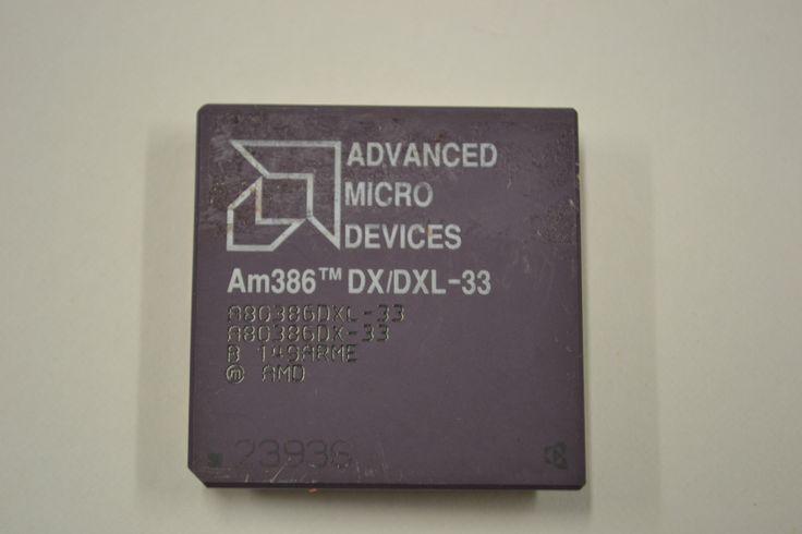 Advanced Micro Devices AMD AM386 DX DXL 33 Vintage CPU