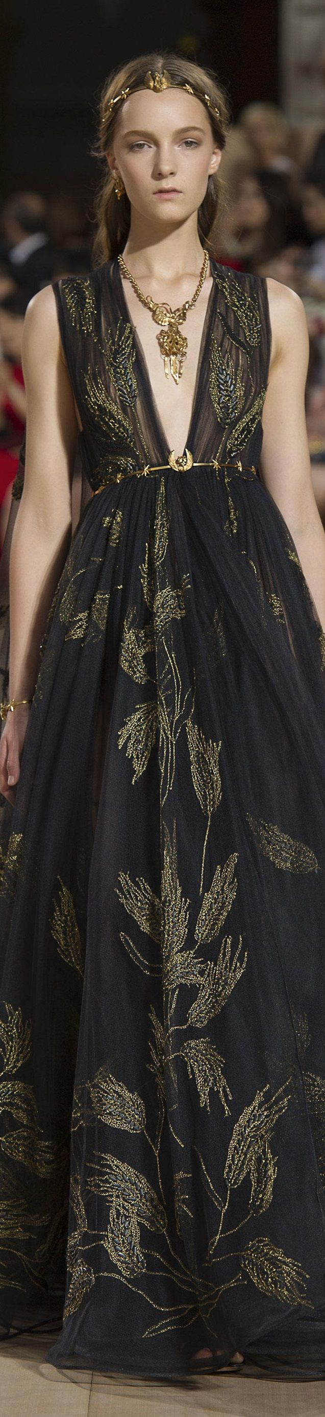 Valentino FW 2015 couture www.valentino.com...loving this collection, especially the jewels!!!