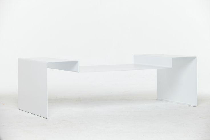 Mesa Shinkal II Diseño chapa plegada https://www.facebook.com/axvico by Sebastian Vedoya