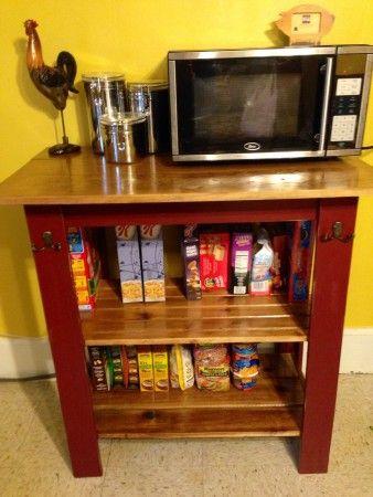 Top 25 Best Microwave Cart Ideas On Pinterest Coffee